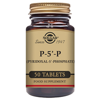 Solgar P-5-P - Vitamin B6 - 50 x 50mg Tablets