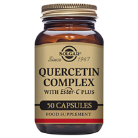 Solgar Quercetin Complex - with Vitamin C - 50 Vegicaps