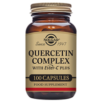 Solgar Quercetin Complex with Vitamin C - 100 Vegicaps