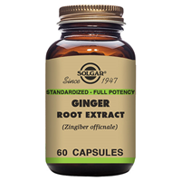 Solgar Ginger Root Extract - 60 Vegicaps