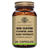 Solgar Red Clover Flower and Leaf Extract - 60 Vegicaps