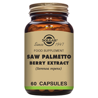 Solgar Saw Palmetto Berry Extract - 60 Vegicaps