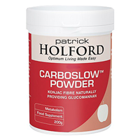 CarboSlow - Konjac Fibre - 200g Powder