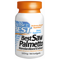 Best Saw Palmetto - 180 x 320mg Softgels