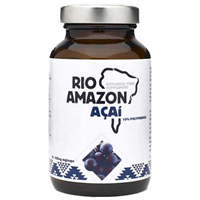 RIO AMAZON Acai 2:1 - 60 x 500mg Vegicaps - Best before date is 30th September 2018