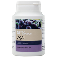 RIO AMAZON Acai 2:1 - 120 x 500mg Vegicaps