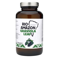 RIO AMAZON Graviola Leaf - 120 x 500mg Vegicaps