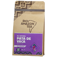 RIO AMAZON Pata De Vaca - Leaf Tea -40 x 1500mg Teabags - Best before date is 30th September 2019
