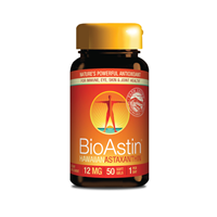 Nutrex BioAstin Hawaiian Astaxanthin One-a-Day - 50 x 12mg Gel Caps