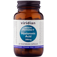 Hyaluronic Acid - High Potency - 30 x 200mg Vegicaps