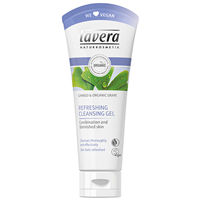 lavera Refreshing Cleansing Gel with Ginkgo & Organic Grape - 100ml