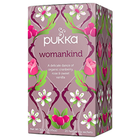 Pukka Teas Womankind - Cranberry - 20 Teabags x 4 Pack