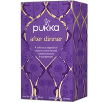 Pukka Teas After Dinner - Sweet Fennel -  20 x 4 Pack