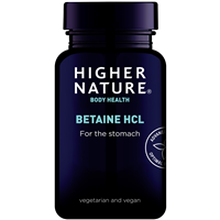 Higher Nature Betaine HCL - 90 Capsules