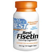 Best Fisetin featuring Cognisetin - 30 x 100mg Vegicaps