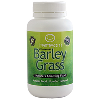 Lifestream Barley Grass Powder - Organic - 100g