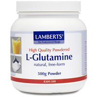 LAMBERTS L-Glutamine Powder - 500g