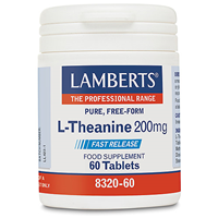 LAMBERTS L-Theanine - 60 x 200mg Tablets
