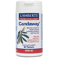 LAMBERTS Candaway - Digestive Support - 60 Tablets