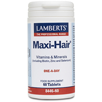 LAMBERTS Maxi-Hair - Vitamins - 60 Tablets