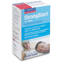 LAMBERTS StrongStart For Men - 30 Tablets + 30 Capsule