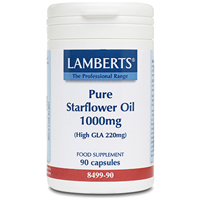LAMBERTS Pure Starflower Oil 1000mg - 90 Capsules