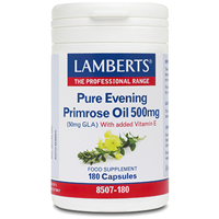LAMBERTS Pure Evening Primrose Oil 500mg - 180 Capsules