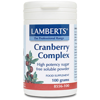 LAMBERTS Cranberry Complex - 100g Powder