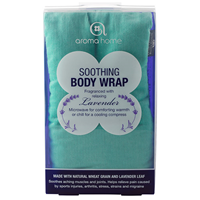 Aroma Home Soothing Body Wrap - Lavender Fragrance - Turquoise