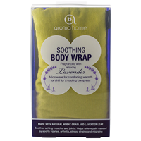 Aroma Home Soothing Body Wrap - Lavender Fragrance - Lime