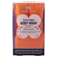 Aroma Home Soothing Body Wrap - Lavender Fragrance - Orange