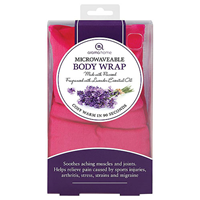 Aroma Home Soothing Body Wrap - Lavender Fragrance - Fuchshia