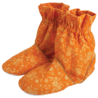 Aroma Home Feet Warmers - Printed Cotton - Apricot