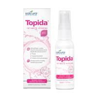 Salcura Topida - Intimate Hygiene Spray - Soothes -50ml