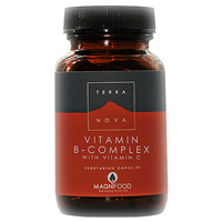 TERRANOVA B-Complex with Vitamin C-100 Vegicaps