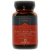 TERRANOVA Easy Iron 20mg Complex - 50 Vegicaps