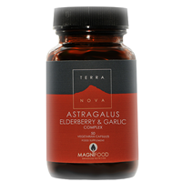 TERRANOVA Astragalus Elderberry & Garlic - 100 Vegicaps