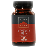TERRANOVA Olive Leaf 450mg - 50 Vegicaps