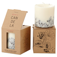 Munio Candela Scented Soy Wax Candle - Cloves - 515ml
