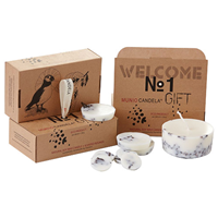 Munio Candela Gift Box - Wax Candle & Discs - Cloves