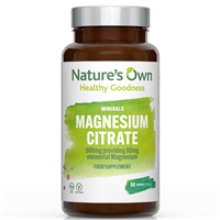 Natures Own Magnesium Citrate - 90 x 500mg Vegicaps