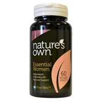 Natures Own Food State Ladies Gold - Vitamin - 60 Tablets