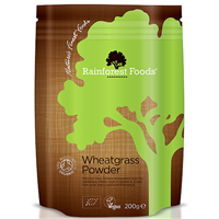 Rainforest Foods Organic Wheatgrass Powder - 200g