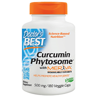 Curcumin Phytosome with Meriva - 180 x 500mg Vegicaps