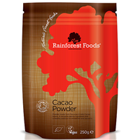Rainforest Foods Organic Cacao Powder - 250g Powder