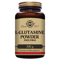 Solgar L-Glutamine Powder - Gut Health - 200g Powder