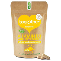Together Vitamin D + Metabolites - 30 Vegicaps x 2 Pack