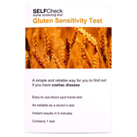 SELFCheck Coeliac (Gluten Sensitivity) Test Kit - 1 Test
