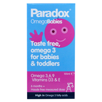 Paradox Babies Omega 3-6-9 & Vitamin D3 -105ml Liquid