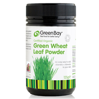 Green Bay Organic Green Wheat Leaf Powder - 125g
